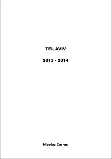 © Nicolas Carras - Tel Aviv - 2013-14