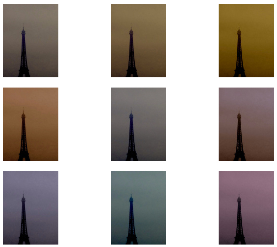 © Nicolas Carras - Tour Effeil - Variations