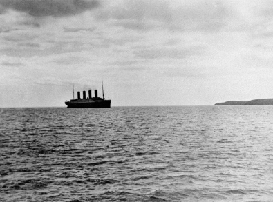 The last picture of the Titanic