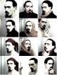Tous les autoportraits au carrelage - série n°1 - © Nicolas Carras