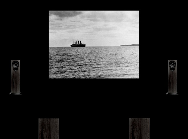 "© Nicolas Carras : Installation ""The last picture of the Titanic"""
