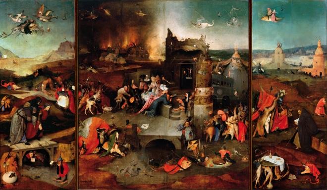 La tentation de Saint Antoine - Jérôme Bosch