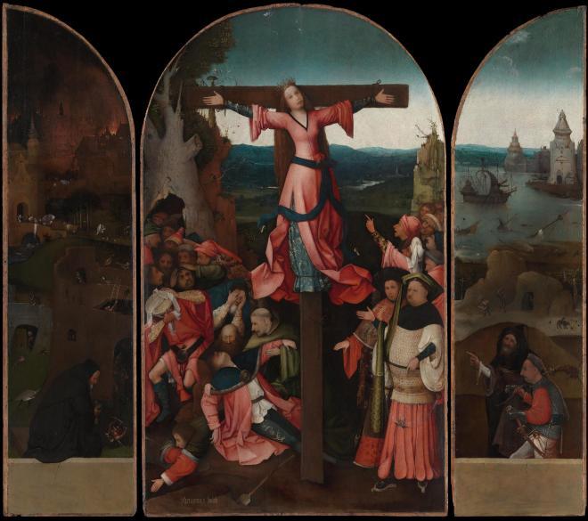 Le Martyre de sainte Julie - Bosch