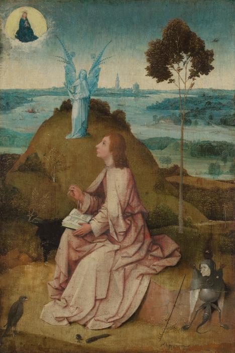 Saint Jean l'évangéliste à Patmos - Bosch