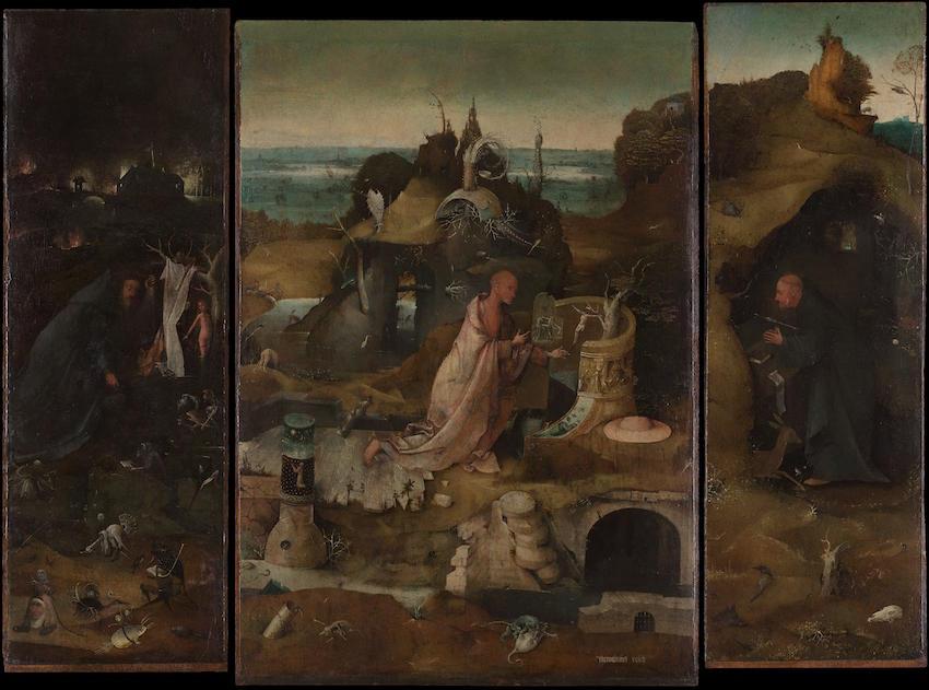Hieronymus_Bosch_-_Hermit_Saints_Triptych - copie 2